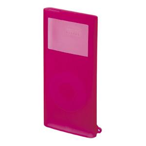 【クリックでお店のこの商品のページへ】【在庫処分】 iPod nanoシリコンケース(ピンク) PDA-IPOD24P