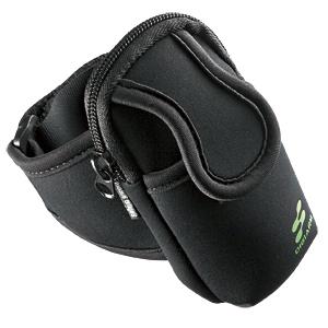 【クリックでお店のこの商品のページへ】アームバンドスポーツケース(ブラック) PDA-MP3C5BK