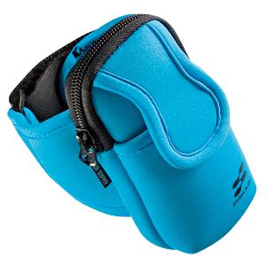 【クリックでお店のこの商品のページへ】【わけあり在庫処分】アームバンドスポーツケース(ブルー) PDA-MP3C5BL