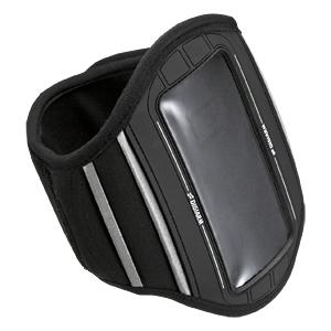 サンワダイレクトアームバンドスポーツケース(ブラック・iPhone4、IS03、GALAXY S、Xperia対応)