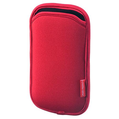 【クリックでお店のこの商品のページへ】スマートフォンケース(スリップインタイプ・レッド) PDA-SPC1R