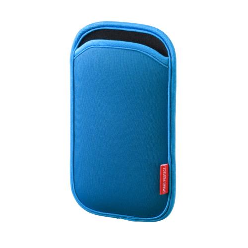 【期間限定価格】5インチ スマートフォンケース(ブルー)
