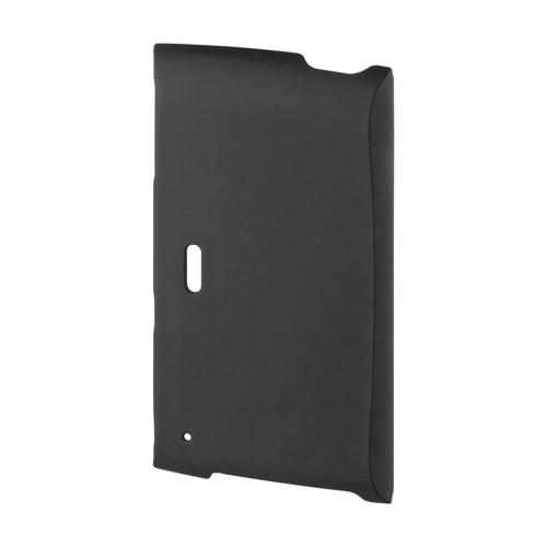【クリックでお店のこの商品のページへ】【わけあり在庫処分】 WALKMAN Z クリアハードケース(ラバーコーティングハードケース・ブラック) PDA-WAZ12BK