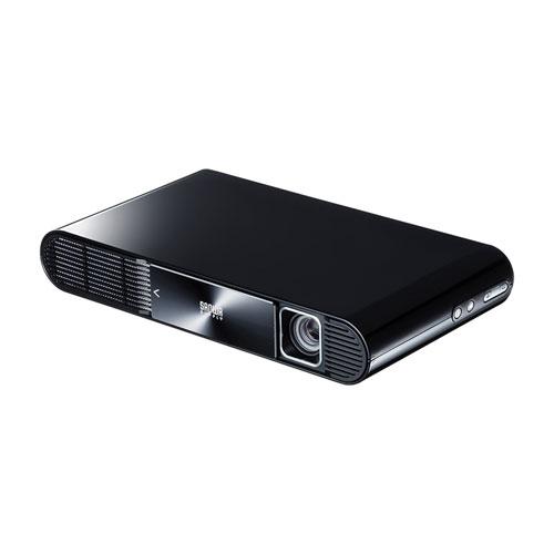 【増税前!期間限定価格】モバイルプロジェクター(HDMI・typeC対応・フルHD・モバイルバッテリー内蔵・700ルーメン)