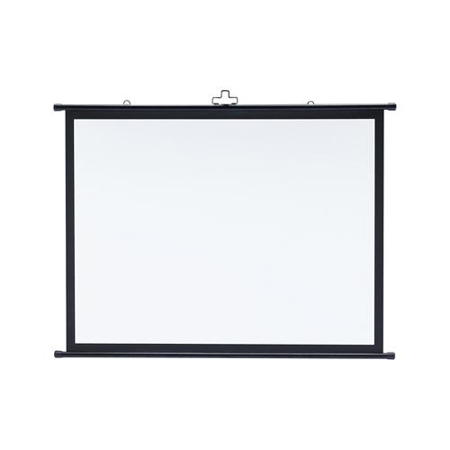 【期間限定価格】プロジェクタースクリーン壁掛け式(アスペクト比4:3・50型相当)