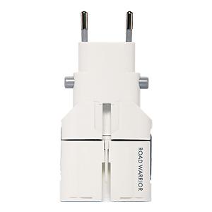 サンワダイレクトロードウォーリア 電源プラグ変換アダプタ ゴーコンW2