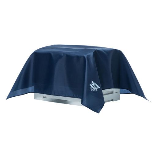 マルチカバー(W1000×D1000mm・防塵・静電気防止・コバルトブルー・小さめサイズ)