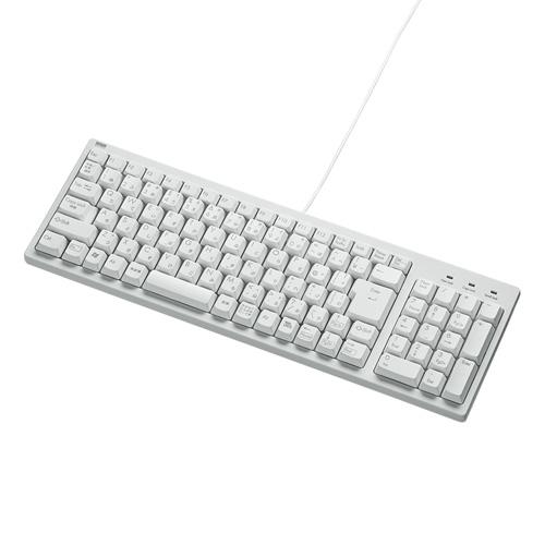 コンパクトキーボード(ホワイト・テンキー有)