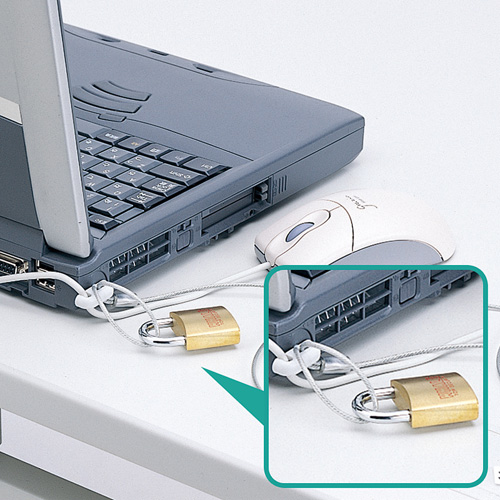 ノートパソコン&マウスセキュリティ
