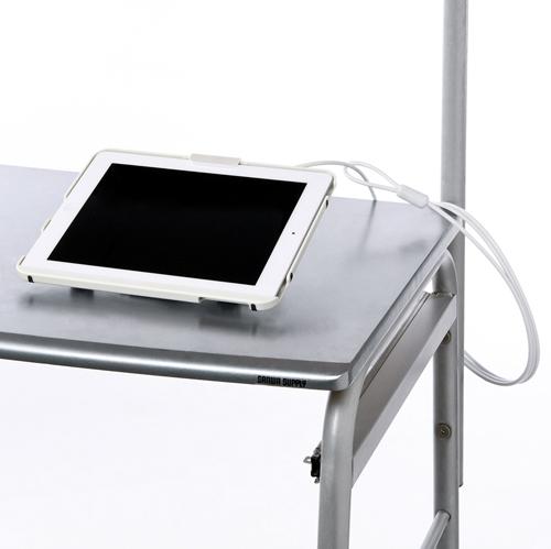 【クリックで詳細表示】iPad 第4世代・新しいiPad・iPad 2・iPad対応セキュリティ(ホワイト) SLE-17SIP3W