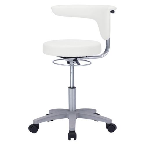 病院向け丸椅子(ホワイト)