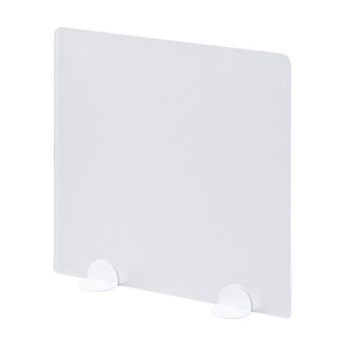 デスクトップパネル(置き型・W450×D105×H450mm・ホワイト)