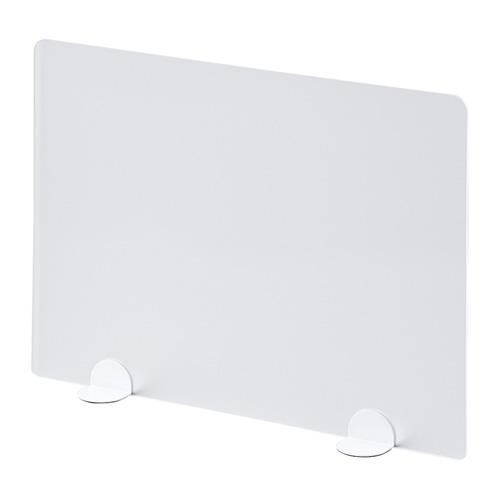デスクトップパネル(置き型・W600×D105×H450mm・ホワイト)