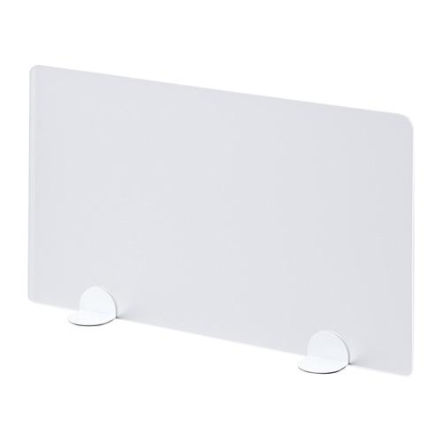 デスクトップパネル(置き型・W600×D105×H360mm・ホワイト)