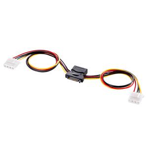 【クリックでお店のこの商品のページへ】2股電源ケーブル(30cm) TK-PWSATA4-03