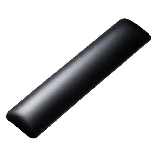 キーボード用リストレスト(レザー調素材、ブラック)