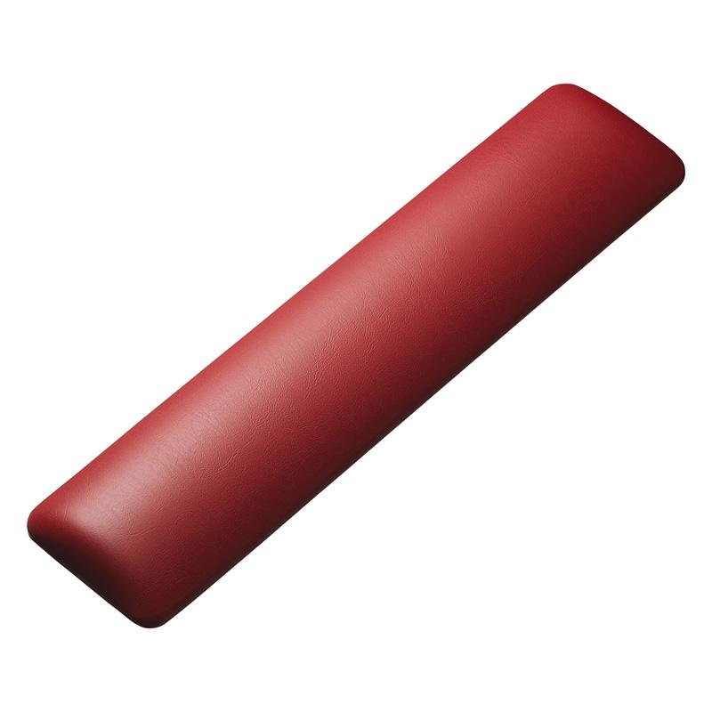 【わけあり在庫処分】キーボード用リストレスト(レザー調素材、レッド) サンワダイレクト サンワサプライ TOK-GELPNLR