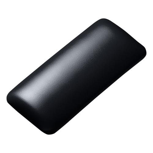 マウス用リストレスト(レザー調素材、ブラック)