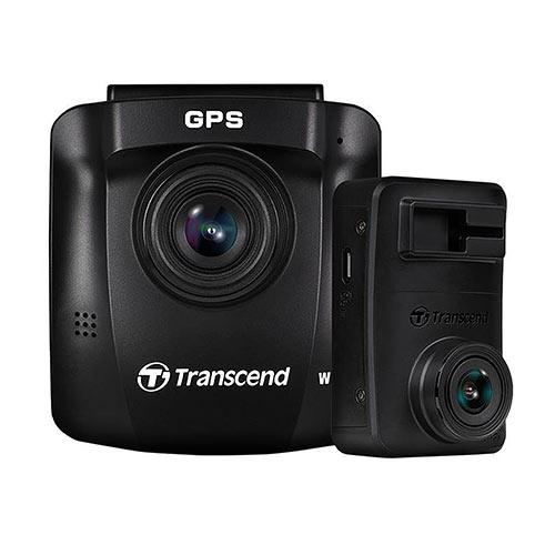 Transcend ドライブレコーダー デュアルカメラ microSD32GB付属 バッテリー内蔵 吸盤固定仕様 DrivePro 620 TS-DP620A-32G