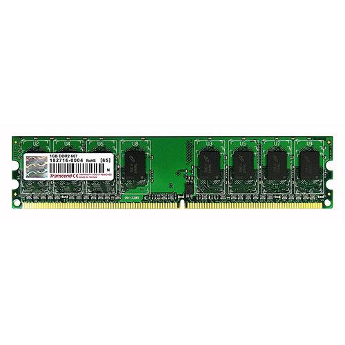 Transcend 増設メモリ 1GB DDR2-667 PC2-5300 DIMM TS128MLQ64V6U