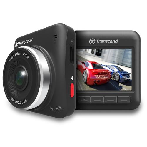 ドライブレコーダー(高画質フルHD・常時録画・microSD16GB付属・DrivePro 200 TS16GDP200M-J・Transcend)