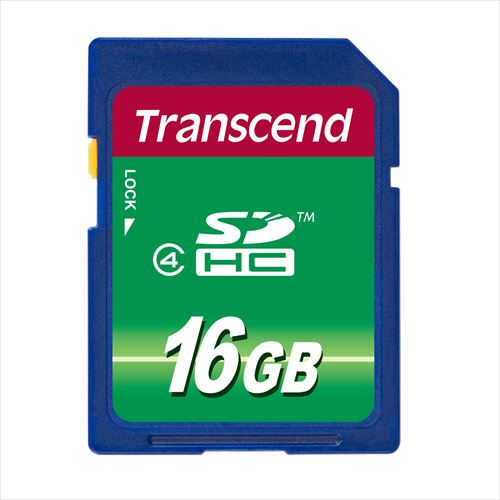 Transcend SDHCカード 16GB Class4 TS16GSDHC4