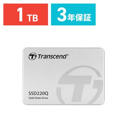 Transcend 1TB 2.5インチ SATAIII SSD TS1TSSD220Q
