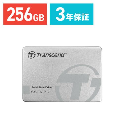 Transcend 256GB 2.5インチ SATAIII SSD TS256GSSD230S