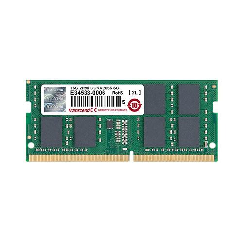 Transcend ノートPC用メモリ 16GB DDR4-2666 PC4-21300 SO-DIMM TS2GSH64V6B