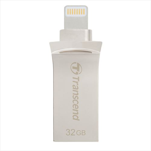 Transcend Lightning・USBメモリ 32GB JetDrive Go 500 USB3.1(Gen1)対応 TS32GJDG500S