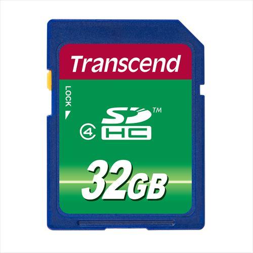 Transcend SDHCカード 32GB Class4 TS32GSDHC4