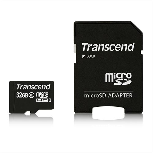Transcend microSDHCカード 32GB class10 TS32GUSDHC10