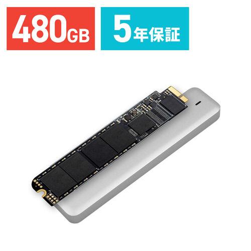 トランセンド SSD  Macbook Air専用アップグレードキット 480GB TS480GJDM500 JetDrive 500
