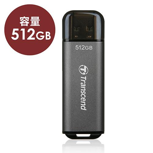Transcend USBメモリ 512GB USB3.2(Gen1) JetFlash 920 TS512GJF920