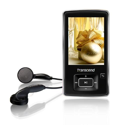 【クリックでお店のこの商品のページへ】Transcend MP3プレーヤー T.sonic 870 8GB(TS8GMP870K・FMラジオ搭載・ブラック) TS8GMP870K