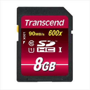 Transcend SDHCカード 8GB Class10 UHS-I対応 Ultimate TS8GSDHC10U1