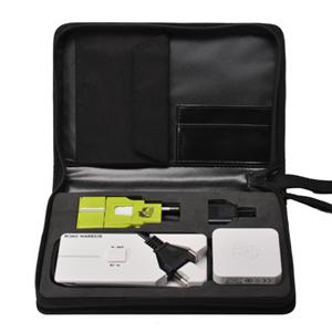 サンワダイレクトパワースリーキット(海外コンセント変換プラグ・海外用電源タップ・USB充電器)