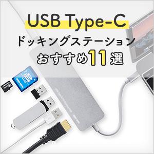 USB Type-C接続のドッキングステーション、おすすめ3選