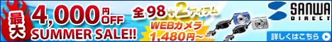 【サンワダイレクト】2010年サマーセール!